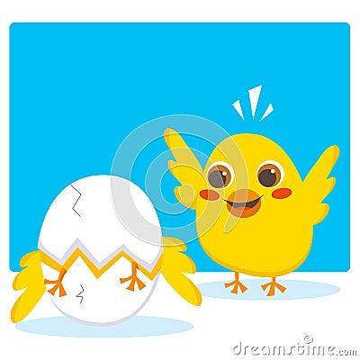 Hatching egg