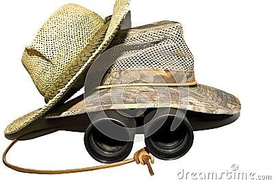 Hats and Binoculars