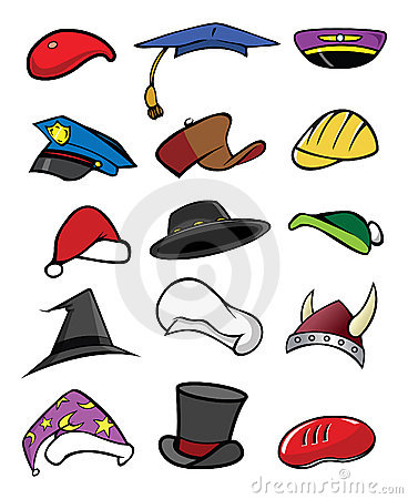 Hats caps collection