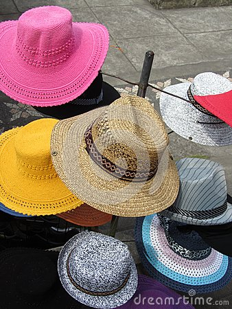Free Hats For Sale Royalty Free Stock Photo - 73643265