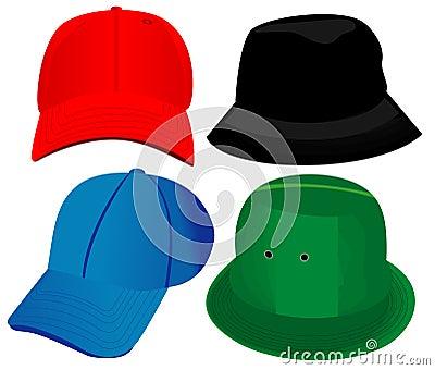 Hats - Vector