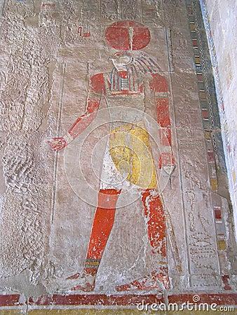 Hatshepsout  temple  Deir el-Bahari (Thebes), Egypt, Africa