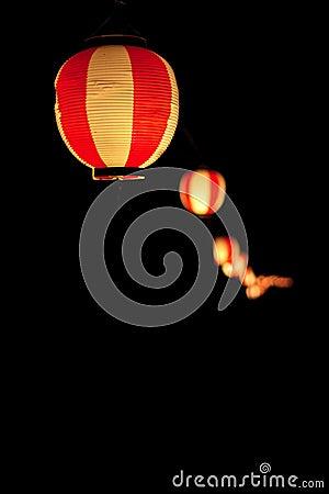 Free Hattasan Shrine Lantern Festival-8 Royalty Free Stock Photos - 20249588