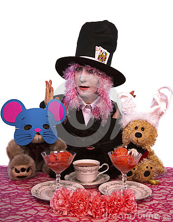 Hatter and Friends Tea Party
