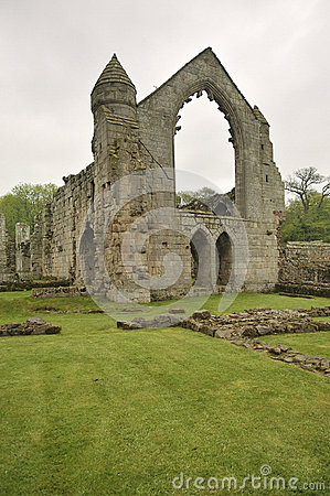 Haughmond Abbey ruins, near Shrewsbury