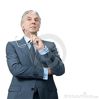Free Haughty Boss. Stock Images - 16306414