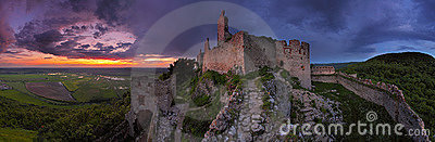 Haunted castle - panoramic view