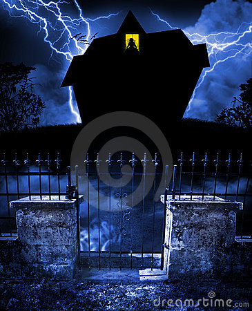 Free Haunted House Royalty Free Stock Image - 14613946