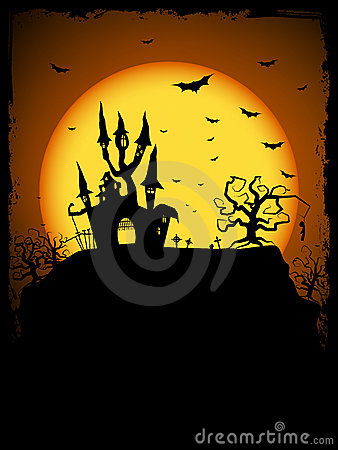 Free Haunted House Royalty Free Stock Image - 16624796