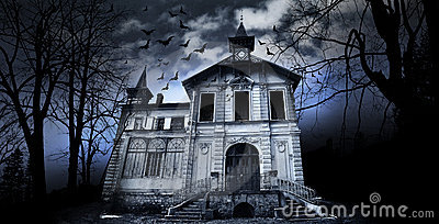 Haunted House Royalty Free Stock Image - Image: 18221876