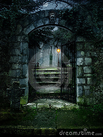 Free Haunted House Royalty Free Stock Photo - 20384855