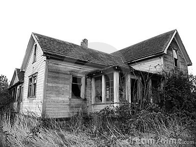 Haunted House BW