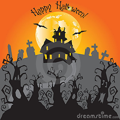 Haunted House Party Invitation