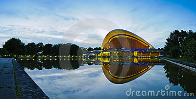 Haus der kulturen der welt in berlin Editorial Stock Image