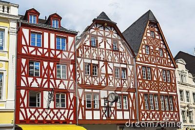 Haus im trier deutschland stockbilder bild 33243984 for Traditionelles deutsches haus