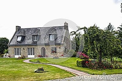 Haus nahe Lanvallay