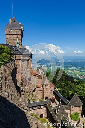 Free Haut-koenigsbourg Castle Royalty Free Stock Image - 77551386