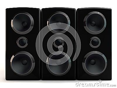 Haut-parleur 3d
