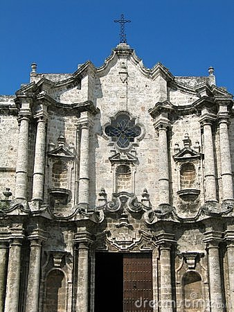 Free Havana Cathedral Detail Stock Photo - 1584500