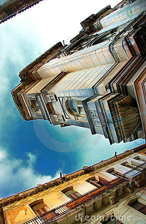 Havana City buildings under blue sky