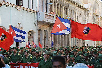Havana March Editorial Stock Photo
