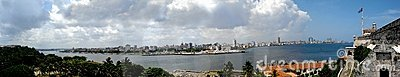 Havana Panoramic View Stock Photography - Image: 21065572