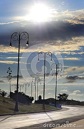 Havana street lamps