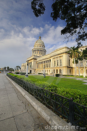 HAVANA View of National Capitol Building. Editorial Stock Image