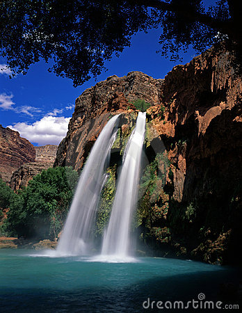 Free HavasuFalls2 Stock Photos - 1039253