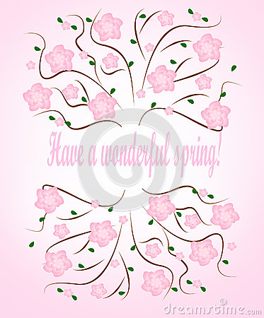 Have a wonderful spring card