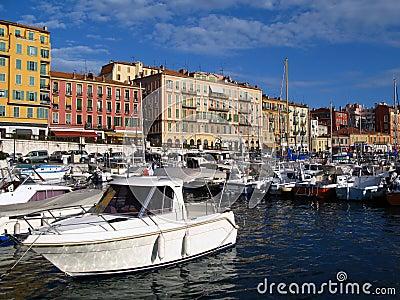 Haven van Nice, Frankrijk