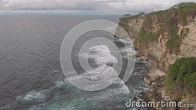 Havets Rocky-kust arkivfilmer