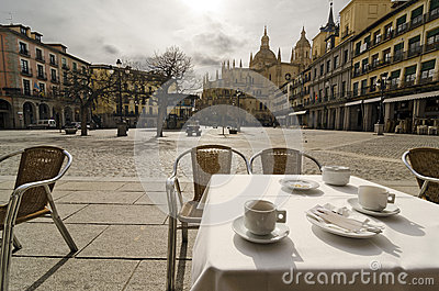 Have a Coffee. Segovia