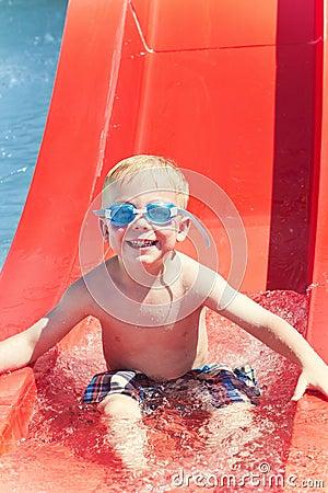 Having Fun at the Water park