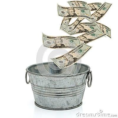 Having a lot of money
