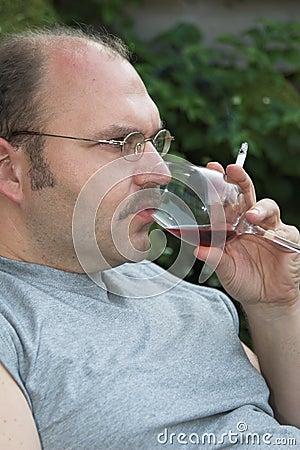 Having  a sip