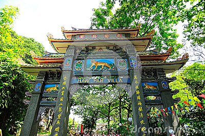 Haw Par Villa Editorial Photography