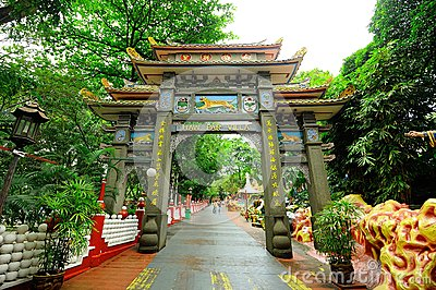 Haw Par Villa (Tiger Balm Garden) Editorial Stock Image