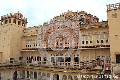 Hawa Mahal(jaipur). Editorial Photography