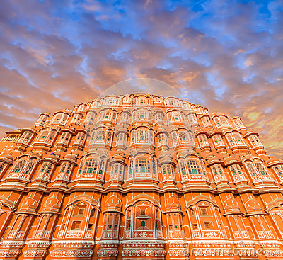 Free Hawa Mahal - Jaipur Royalty Free Stock Photos - 93008418