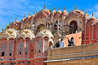 Hawa Mahal, Jaipur, India. Editorial Photography
