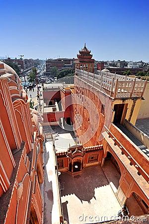 Hawa Mahal, Jaipur, India. Editorial Photo