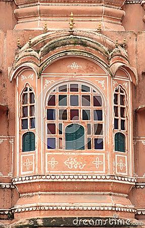 Hawa Mahal(jaipur).India.