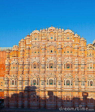 Hawa Mahal, the Palace of Winds,