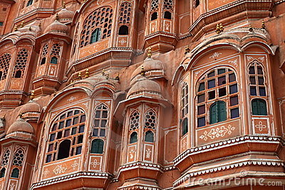 Hawa Mahal, the Palace of Winds.
