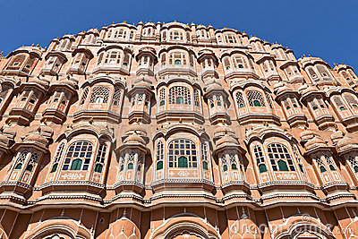 Hawa Mahal Palace of winds in Jaipur