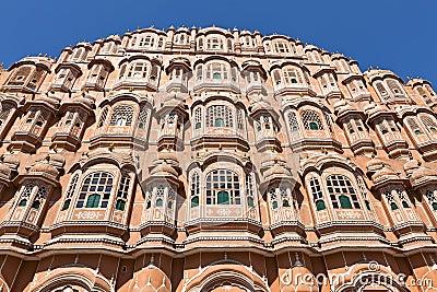 Hawa Mahal Palace of winds in Jaipur