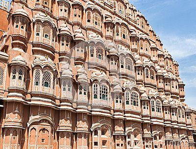 Hawa Mahal (Palace of Winds or Palace of the Breez