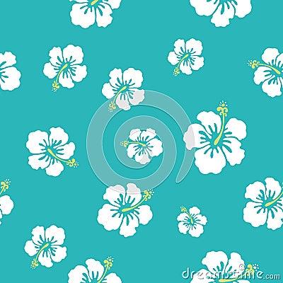 Hawaii flowers texture