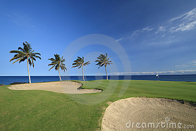 Hawaii Golf Course Stock Images - Image: 5832494